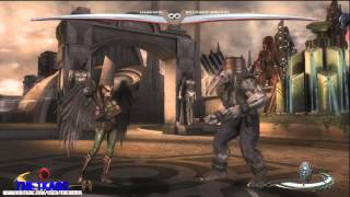 INJUSTICE Gods Among us All Special Moves ( Ataques Especiales )