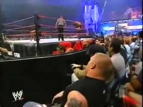WWE Raw - Rock vs Triple H with Brock Lesnar ringside!!!