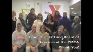Thank You from the YMCA of Greater Westfield!