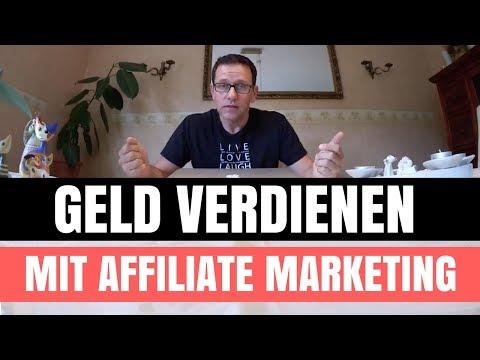 Geld verdienen mit Affiliate Marketing - Video 1