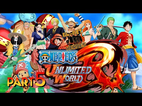 One Piece: Unlimited World Red Co-op Playthrough - 5. Versus Whitebeardless video