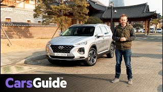 Hyundai Santa Fe 2018 review