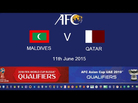 Maldives v Qatar: 2018 FIFA WC Russia & AFC Asian Cup UAE 2019 (Qly RD 2)