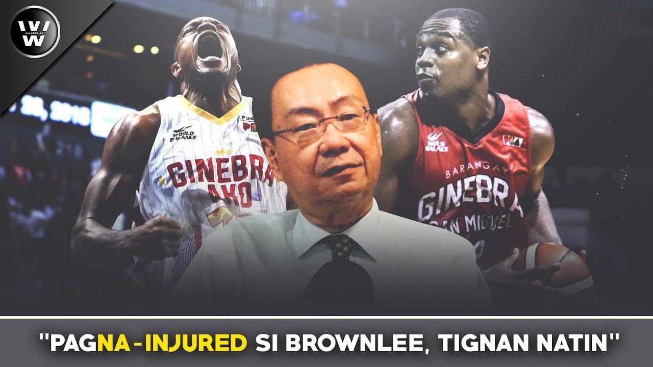 Gustong Makitang ma-INJURED si Brownlee? | Issue sa Manila Clasico
