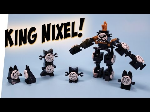LEGO Mixels King Nixel Congregated Combiner Build Instructions Review