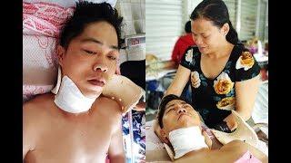 Người chồng bị liệt vì lao lực kiếm tiền nuôi vợ mù, 3 con nhỏ được ủng hộ 110 triệu đồng