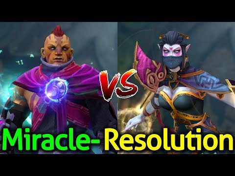 Miracle- [Anti Mage] vs Resolution [Templar Assassin] Dota 2 - Insane Game
