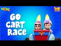 Go Cart Race   Vir :The Robot Boy  Kid's Animation Cartoon Series