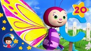 Sleeping Baby | ABC Butterfly Song | Kids songs | Nursery Rhymes | Little Baby Bum