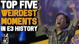 Top Five Weirdest Moments in E3 History - rabbidluigi
