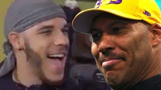 "LaVar Ball Calls BLUFF On Lonzo's Shoe Comments, ""Somebody Got In His Ear"""