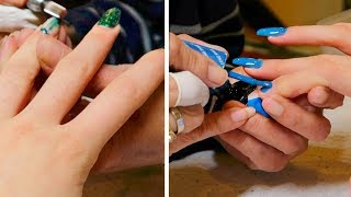 Getting My Acrylic Nails Filled... NEW NAILS!! FionaFrills Vlogs