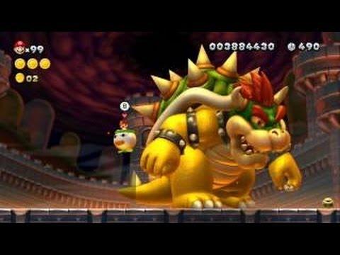Super Mario 3D Land 100  Walkthrough - World 8   Final Boss  All Star    Super Mario 3d World Final Boss Bowser