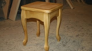 # КАБРИОЛЬ Табурет # KABRIOL Stool with his hands