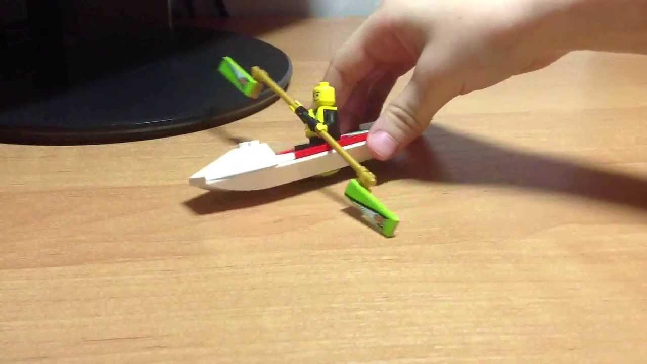 как сделать лодку своими из лего