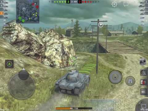 World of Tanks Blitz - Edelweiss: first games