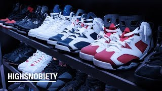 StockX CEO Josh Luber Shows Off His Insane Personal Sneaker Collection