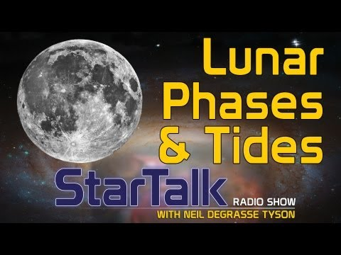 Neil deGrasse Tyson on Lunar Phases and Tides
