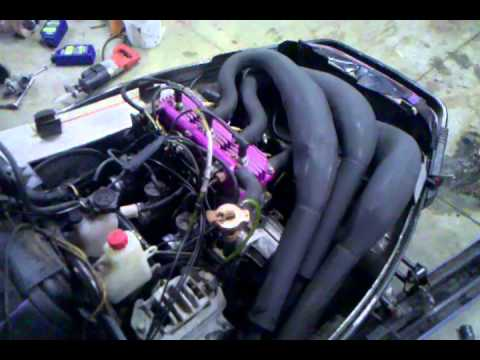 1996 polaris xlt new engine with pipes test run