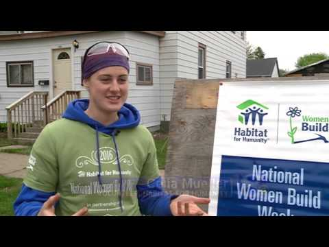 'National Women Build Week' brings women out for Habitat for Humanity