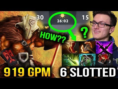 Miracle- Jug - How He Can Farm So Fast? 6 Slotted in 26Min Dota 2
