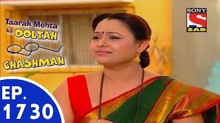 Taarak Mehta Ka Ooltah Chashmah - तारक मेहता - Episode 1730 - 3rd August, 2015