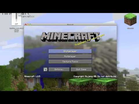 How To Install Texture Packs And Hd Texture Packs On Minecraft (Mac)