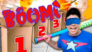 EXPLOSIVE BOXES !!! CHALLENGING YOUR BRAIN !!!