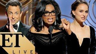 ET Live 2018 Golden Globes Post Show: Oprah