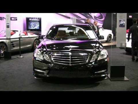 2012 Mercedes-Benz E350 4MATIC Exterior and Interior at 2012 Montreal Auto Show