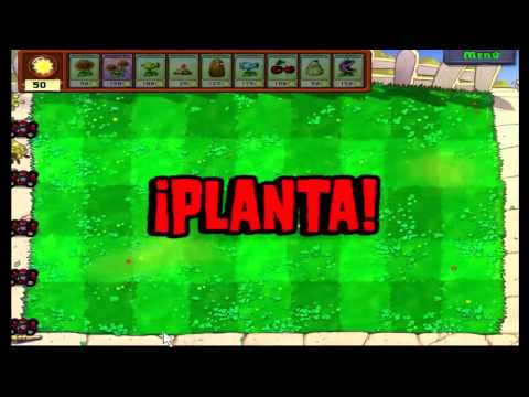 Plantas vs zombies en español + zombatar Mountain Lion 10.8