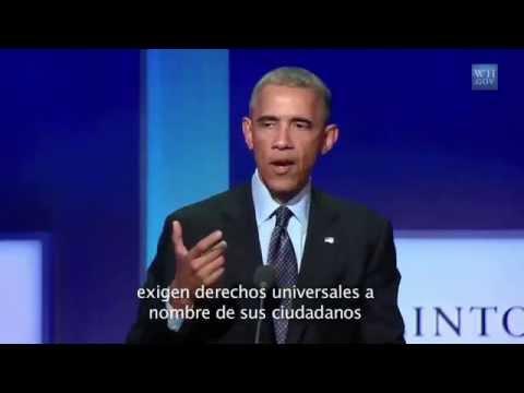 Presidente Obama pide liberación de Leopoldo