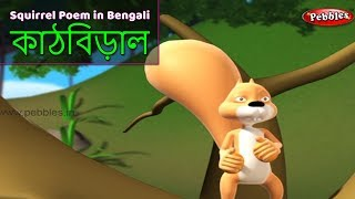 Squirrel Song in Bengali | Bengali Rhymes For Children | Baby Rhymes Bengali | Bengali Kids Songs