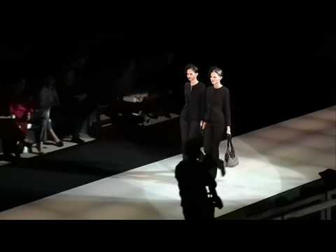 Giorgio Armani Fall/Winter 2009-2010 Part 1 of 2