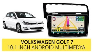 Volkswagen Golf 7 10 Inch Android Multimedya Sistemi Uygulaması