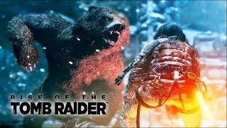 RISE OF THE TOMB RAIDER: Parte 02, Ataque de Urso [ Gameplay em Português PT-BR ]