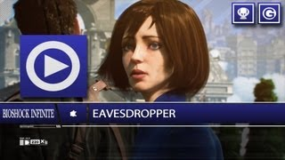 (SOG) Eavesdropper / 100% Voxophone Locations - Trophy I Achievement Unlock (BIOSHOCK INFINITE)