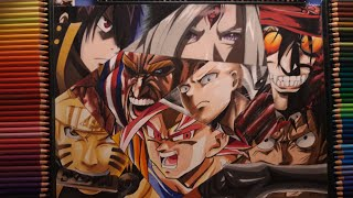 Drawing The Strongest Anime Characters (male)