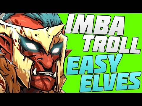 troll vs elves dota 2 гайд за троля