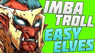 troll vs elves dota 2 гайд за троля