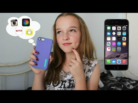 What's on my iPhone 6? + NEW Features & Comparison!