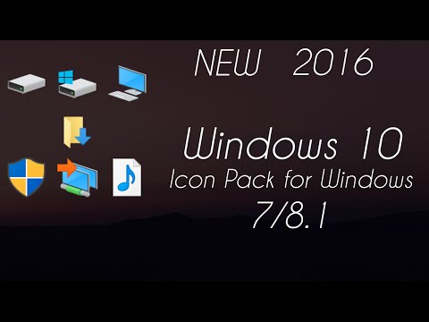 Windows 8 Icon Pack For Windows 7 Windows 10 Icon Pack For