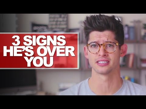 3 Signs He's Over You! | #dearhunter video