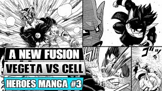 Dragon Ball Heroes Manga Chapter 3: A NEW Potara Fusion! Xeno Vegeta Vs Dark Star Perfect Cell