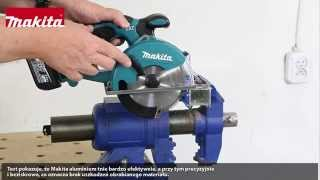 Test akumulatorowej pilarki do metalu Makita BCS550