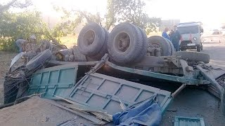 Truck Crash Compilation August  2016
