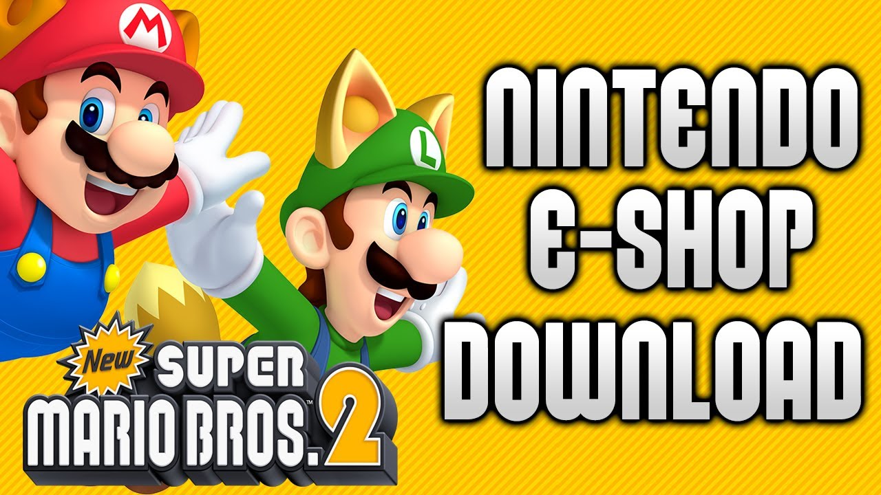 Mario bros 2 buying amp downloading from nintendo 3ds eshop youtube