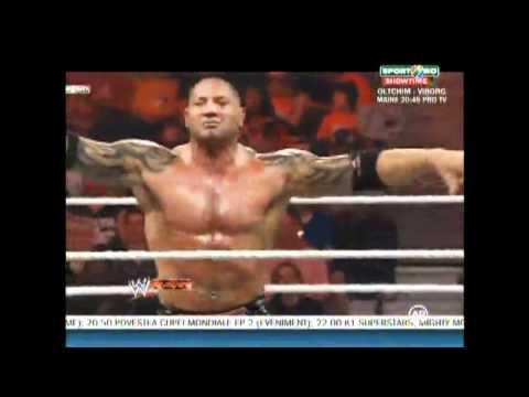 Sheamus vs Batista vs Randy Orton