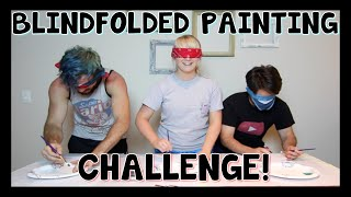 Blindfolded Painting Challenge | Meghan McCarthy