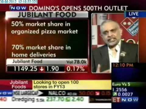 Dominos Opens 500th Outlet